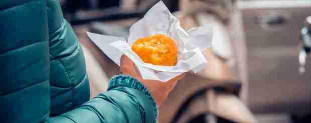 arancino street food catania tour
