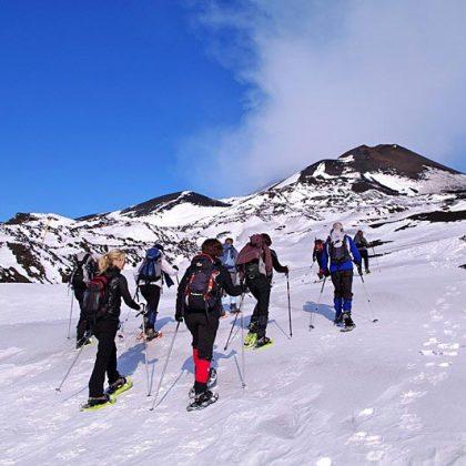 etna escursioni neve